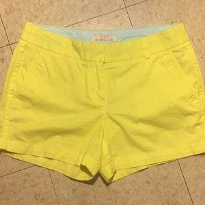 J. Crew Neon Yellow Broken-In Chino 💯 Cotton